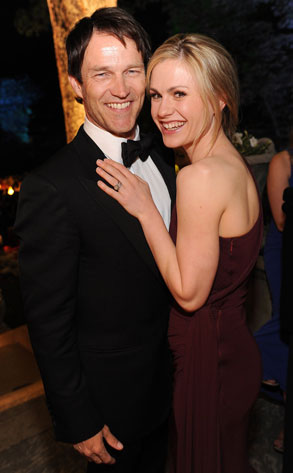 Stephen Moyer, Anna Paquin