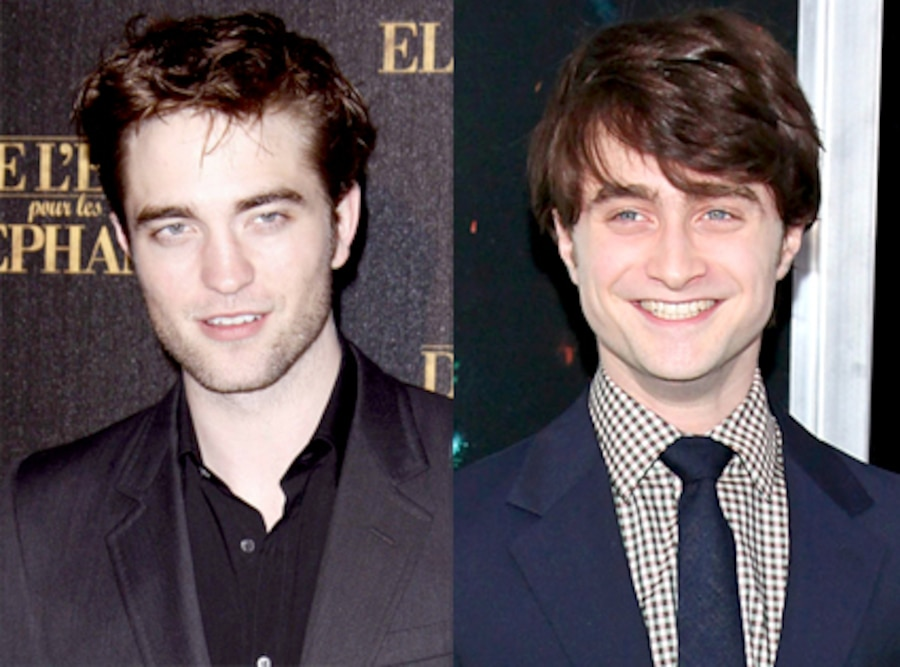 Robert Pattinson, Daniel Radcliffe