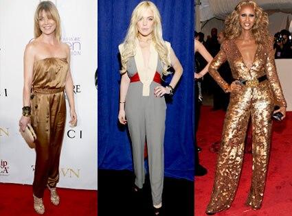 Ellen Pompeo, Lindsay Lohan, Iman