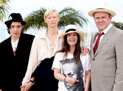Ezra Miller, Tilda Swinton, Lynne Ramsay, John C. Reilly