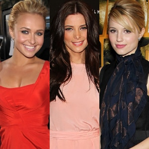 Dianna Agron, Hayden Panettiere, Ashley Greene