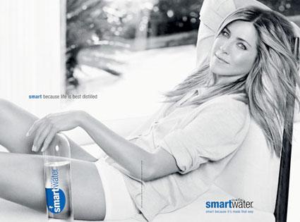 Jennifer Aniston, Smart Water