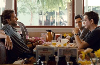 Bradley Cooper, Ed Helms, Justin Bartha, The Hangover 2