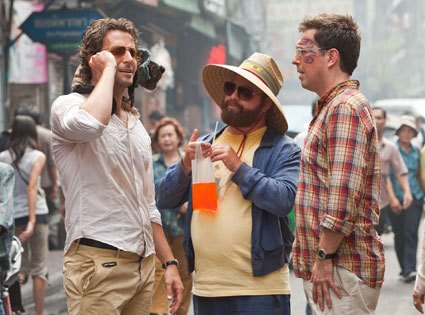 Bradley Cooper, Ed Helms, Zac Galifianakis, The Hangover 2