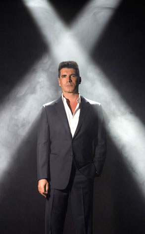 THE X FACTOR, Simon Cowell