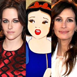 Kristen Stewart, Snow White, Julia Roberts