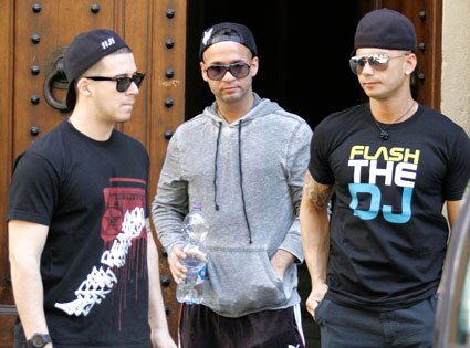 Vinnie Guadagnino, Mike Sorrentino, Pauly D, The Situation, Paulie D
