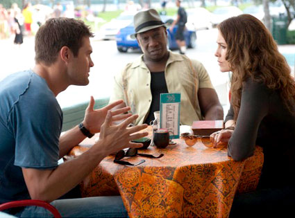 THE FINDER, Geoff Stults, Michael Clarke Duncan, Saffron Burrows
