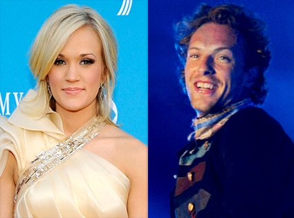 Carrie Underwood, Chris Martin