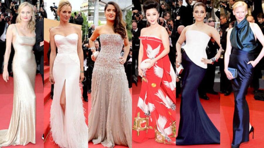 Diane Kruger, Uma Thurman, Salma Hayek, Fan Bingbing, Aishwarya Rai, Tilda Swinton