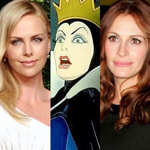 Charlize Theron, Evil Queen, Julia Roberts