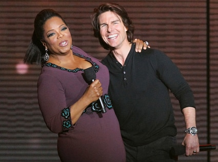 Oprah Winfrey, Tom Cruise