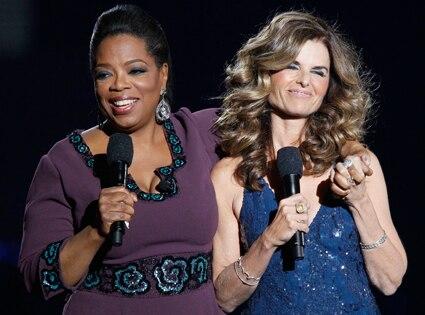 Oprah Winfrey, Maria Shriver