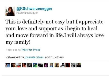 Schwartzenegger, Twitter