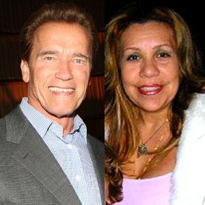 Arnold Schwarzenegger, Mildred Patricia Baena, Patty