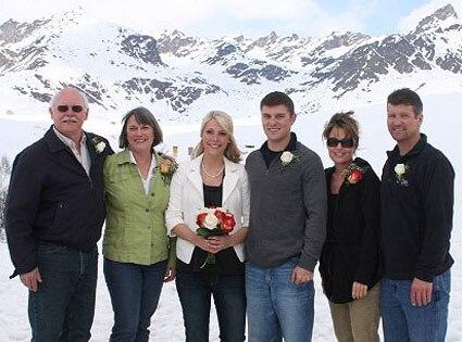 Track Palin, Sarah Palin, Britta Palin