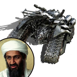 Osama Bin Laden, Transformer Megatron