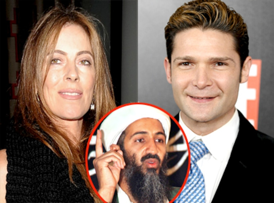 Osama Bin Laden, Kathyrn Bigelow, Corey Feldman
