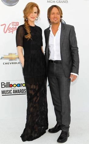 Nicole Kidman, Musician Keith Urban
