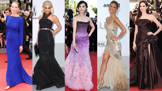 Uma Thurman, Gwen Stefani, Fan Bingbing, Bar Refaeli, Angelina Jolie
