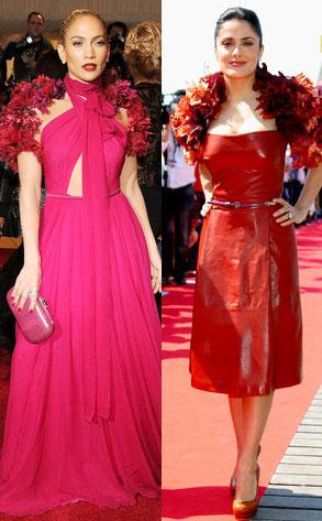 Jennifer Lopez, Salma Hayek