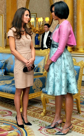 Kate Middleton, Michelle Obama