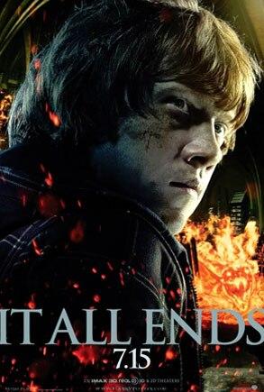 Rupert Grint, Harry Potter It All Ends Poster