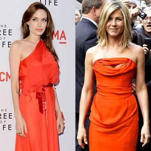 Angelina Jolie, Jennifer Aniston