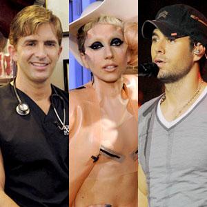 Dr. Robert Rey, Lady Gaga, Enrique Iglesias