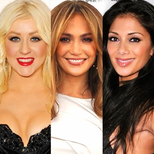 Christina Aguilera, Jennifer Lopez, Nicole Scherzinger