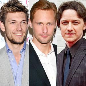 Alex Pettyfer, Alexander Skarsgard, James McAvoy