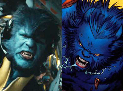 Beast, X-Men First Class, Comic