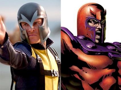 Magneto, X-Men First Class, Comic