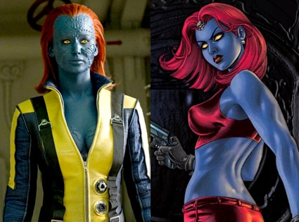 Mystique. X-Men First Class, Comic