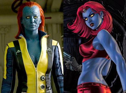 Mystique. X-Men First Class, Comic
