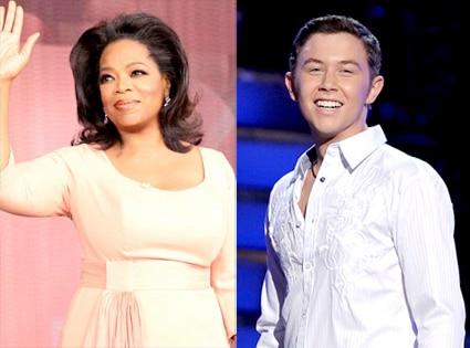 Oprah Winfrey, Scott McCreery