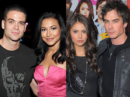 nina dobrev dating mark salling Arguably two of the most rad characters on glee, mark salling and naya rivera had a brief dalliance back in 2010 although they still work together on the.