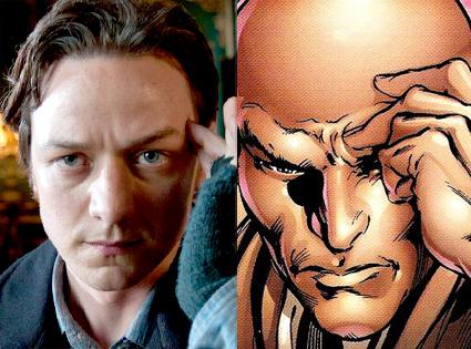 Professor Charles Xavier, X-Men First Class, Comic