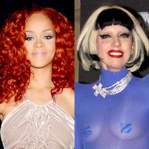 Rihanna, Lady Gaga