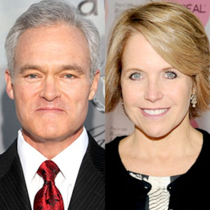 Scott Pelley, Katie Couric