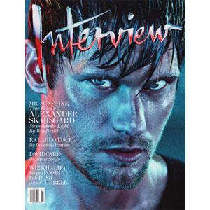 Alexander Skarsgard, Interview Magazine Cover