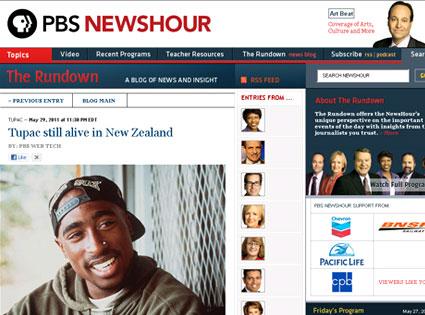 Fake Tupac Shakur Story