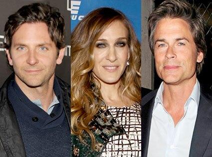 Bradley Cooper, Sarah Jessica Parker, Rob Lowe
