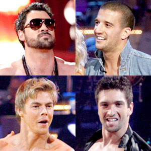 Maksim Chmerkovskiy, Mark Ballas, Dmitry Chaplin, Derek Hough