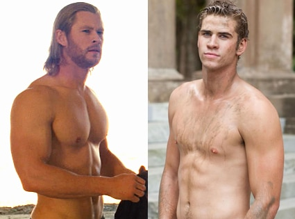 Chris Hemsworth, Thor, Liam Hemsworth, The Last Song