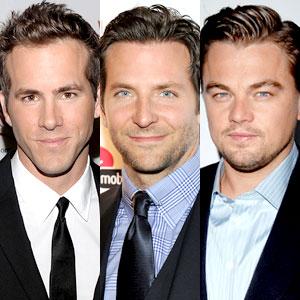 Ryan Reynolds, Bradley Cooper, Leonardo DiCaprio