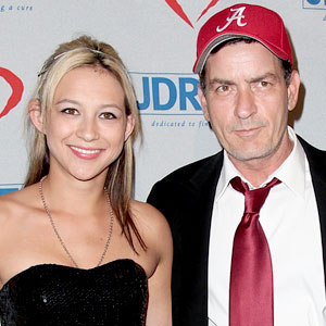 Natalie Kenly, Charlie Sheen