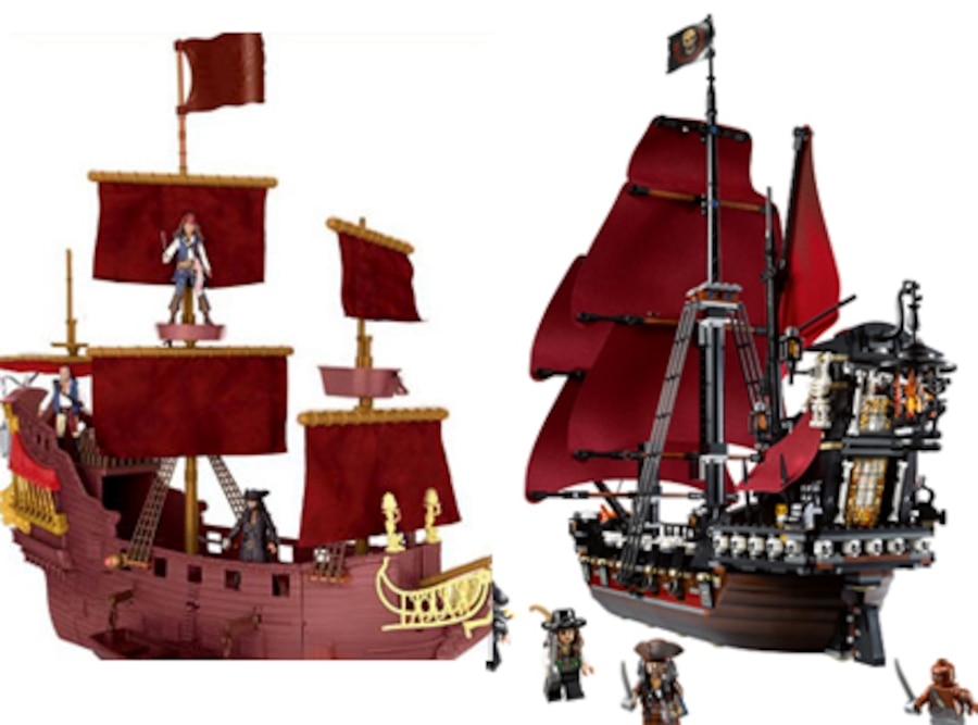 Caribbean Ship, Lego Pirate Ship, Toys