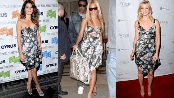 Marisa Tomei, Beyonce, Amy Smart