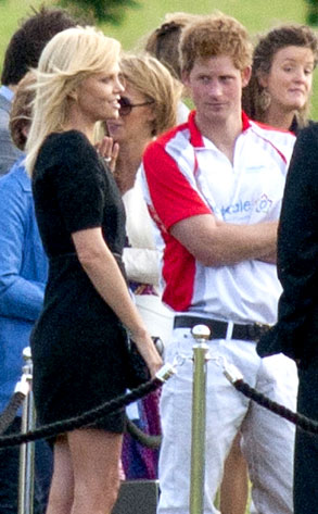 Prince Harry, Charlize Theron